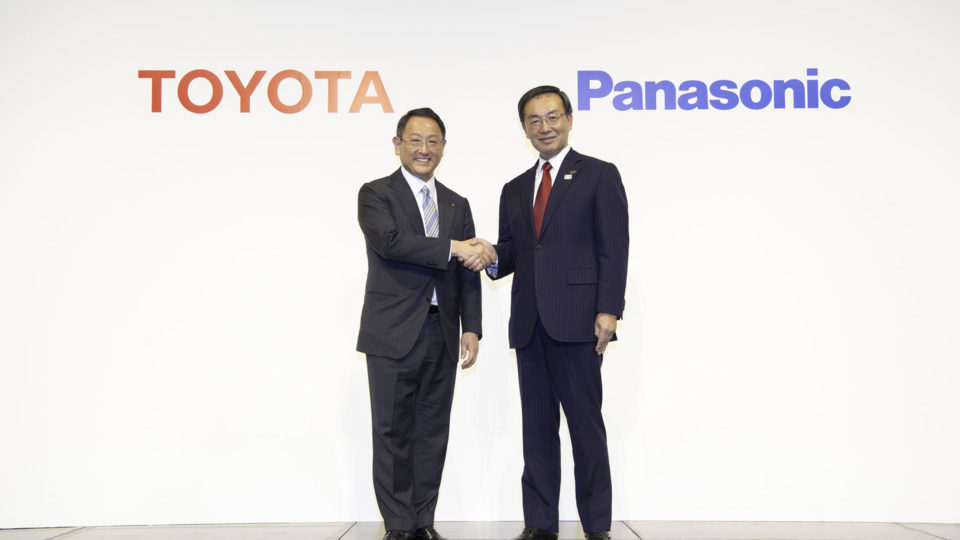 Toyota And Panasonic JV To Make Next-Gen EV Batteries