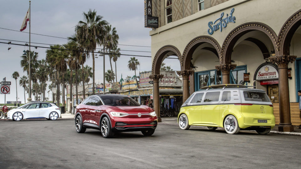 Volkswagen Will Have Eight EV Producing Plants By 2022