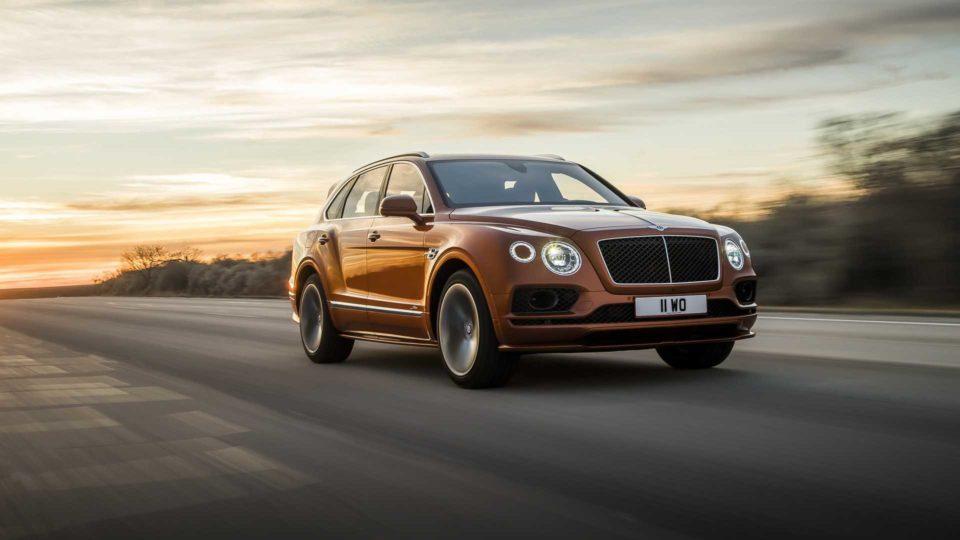 Bentley Bentayga Speed Unveiled As World's Fastest SUV
