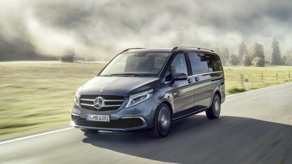 Mercedes-Benz V-Class Facelift Revealed