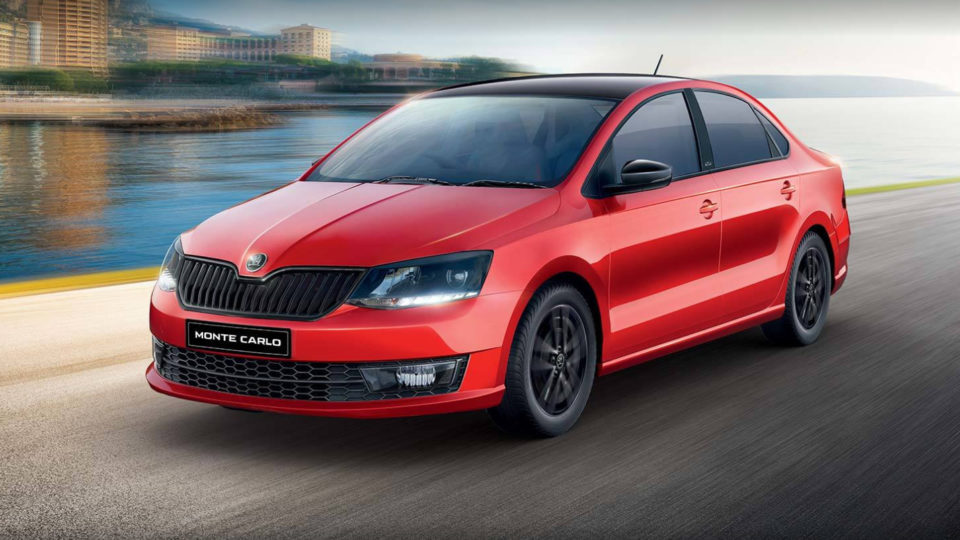Skoda Rapid Monte Carlo Relaunched In India