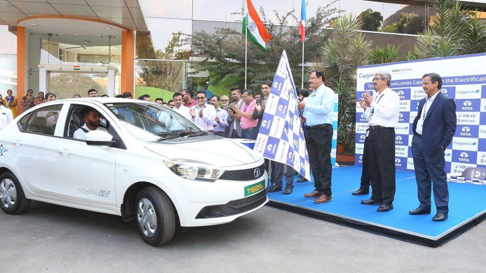 Tata Motors Set To Electrify Capgemini India